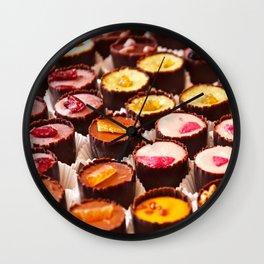 Chocolates in LOVE  Wall Clock