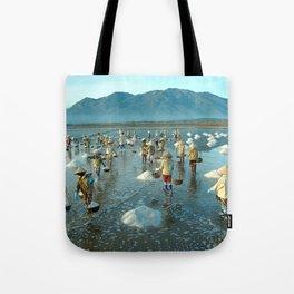 Hon Khoi salt fields - Viet Nam Tote Bag