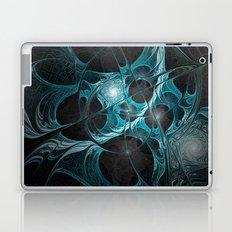 Turquoise Fractal Laptop & iPad Skin