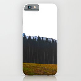 The Forest Calls iPhone Case