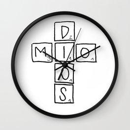 Dios mio Wall Clock