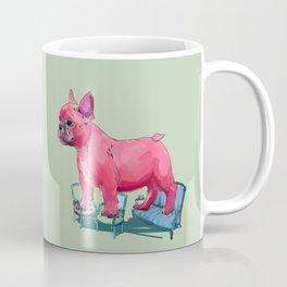 animals in chairs # 23 French Bull Dog Coffee Mug