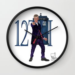 12th Doctor Wall Clock