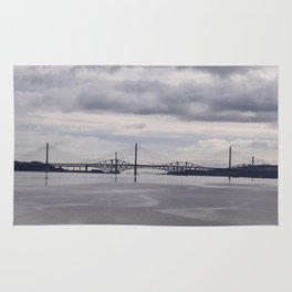 Queensferry and Forth Bridges Rug