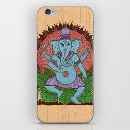peace ganesh iPhone Skin