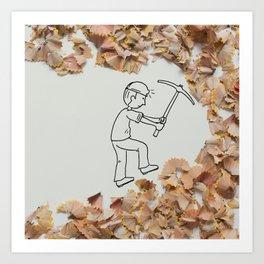 Vale - Mining Art Print