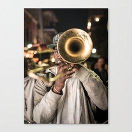 New Orleans Second Line Canvas Print