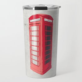 Oxford Phone Booth Travel Mug