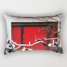amsterdam street Rectangular Pillow