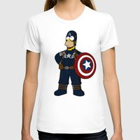 simpson T-shirts featuring Captain Simpson by Betmac