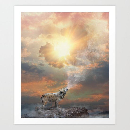 Climb Mountains Not So the World Can See Art Print