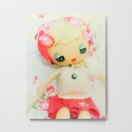 pretty pose doll Metal Print