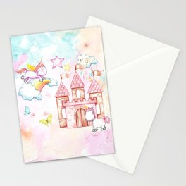 Unicorn Avalon Island Stationery Cards