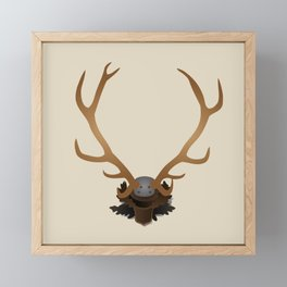 Antlers Framed Mini Art Print