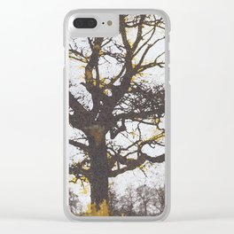 The alchemy of the tree Clear iPhone Case