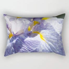 The love of the Iris by Teresa Thompson Rectangular Pillow