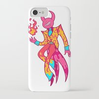 satan iPhone & iPod Cases featuring Satan by Spacepegasus
