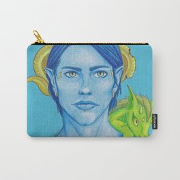 Blue Demon Carry-All Pouch