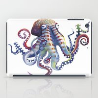 octopus iPad Cases featuring Octopus by Sam Nagel