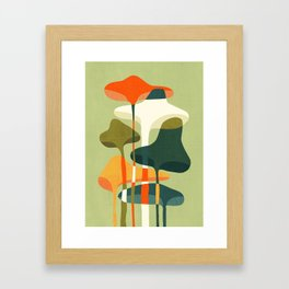 Little mushroom Framed Art Print