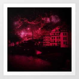 Magic Norrköping Art Print