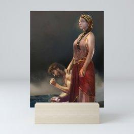 "Calypso(""Charm of of the Ancient Enchantress"" Series) Mini Art Print"