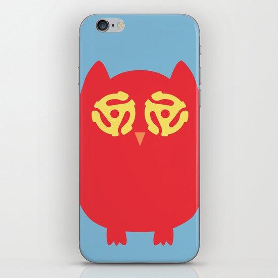 Owl 45s iPhone & iPod Skin