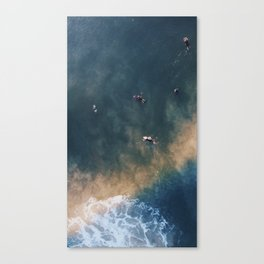 Glowing Wave Canvas Print