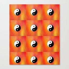 Yin and Yang 5 - Tao,Zen,Taoism,Dao,Harmony,religion,buddhism,buddhist,taijitu,taiji,taoist,china Canvas Print