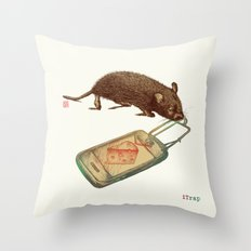 iTrap Version 2 Throw Pillow