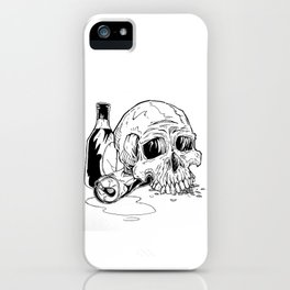Skull Abuse  iPhone Case