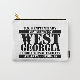 Property Of West Georgia Correctional Facility Carry-All Pouch