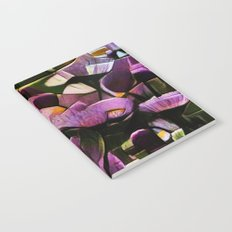 Abstract Wldflowers Notebook