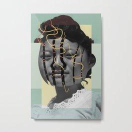 Discombobulated Two Metal Print