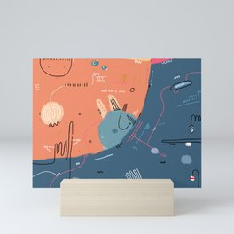 Meet me by the Eyes of the Road Mini Art Print
