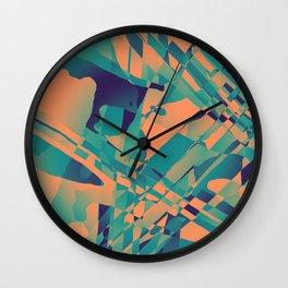 Heavy Distortion Wall Clock