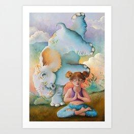Z imagination Faith & Spirit Art Print