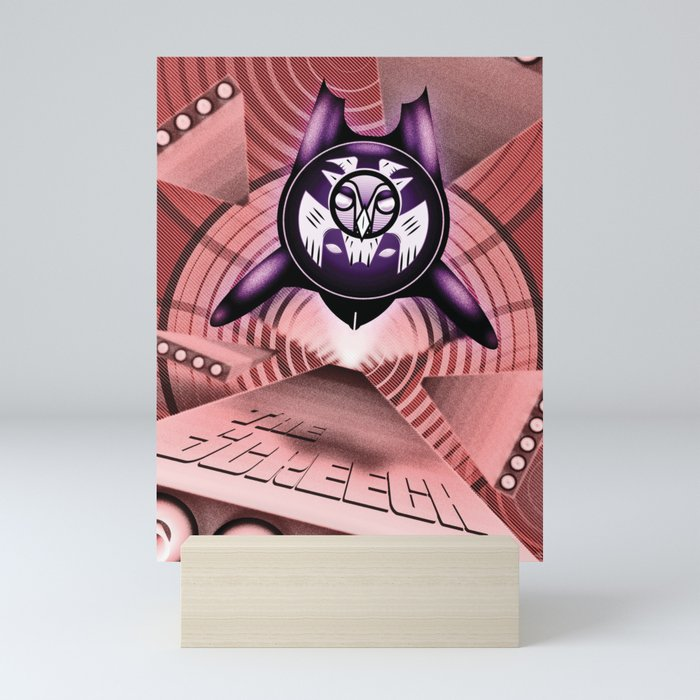 The Screech Mini Art Print