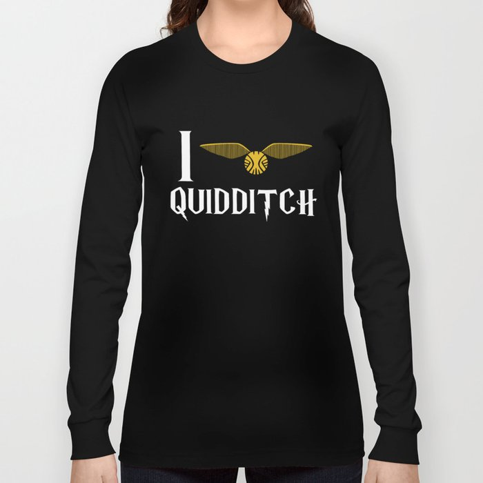 I love Quidditch Long Sleeve T-shirt