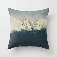Terror Throw Pillow