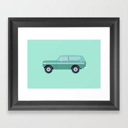 International Harvester Scout Framed Art Print