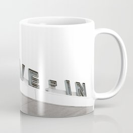 Drive In Old Vintage Sign Coffee Mug
