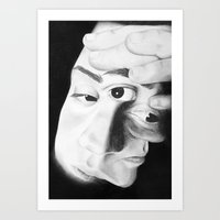 Frayed Art Print