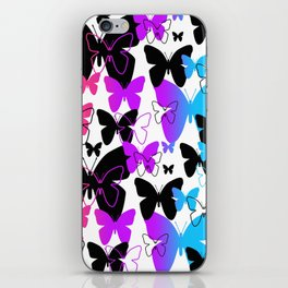 Rainbow Butterfly  iPhone Skin