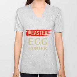 The Easter Egg Hunter Unisex V-Neck