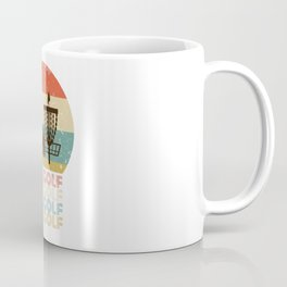 Disc Golf Discgolf Vintage Design Coffee Mug