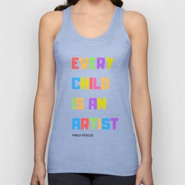 Every Child is an Artist Unisex Tank Top