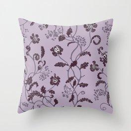 gentle weeds Throw Pillow