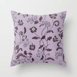 gentle weeds Throw Pillow