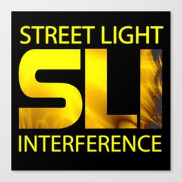 Street Light Interference Canvas Print